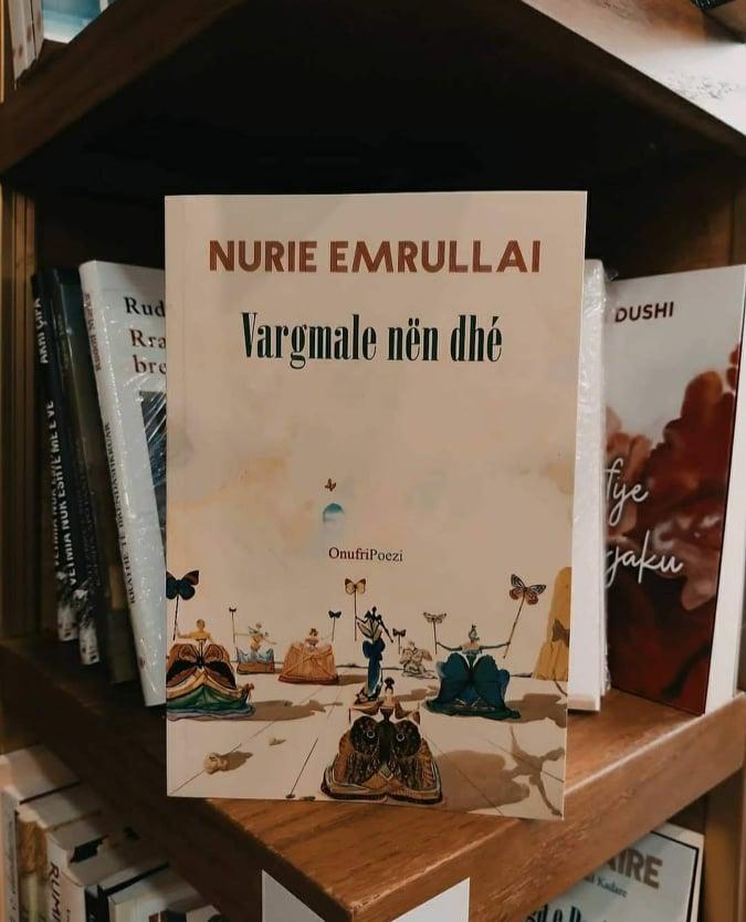 """Nurie Emrullai del para lexuesve me librin """"Vargmale nën dhé"""""""