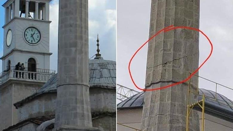 Kriset xhamia e Et'hem Beut? Instituti Monumenteve: Mbetje silikoni