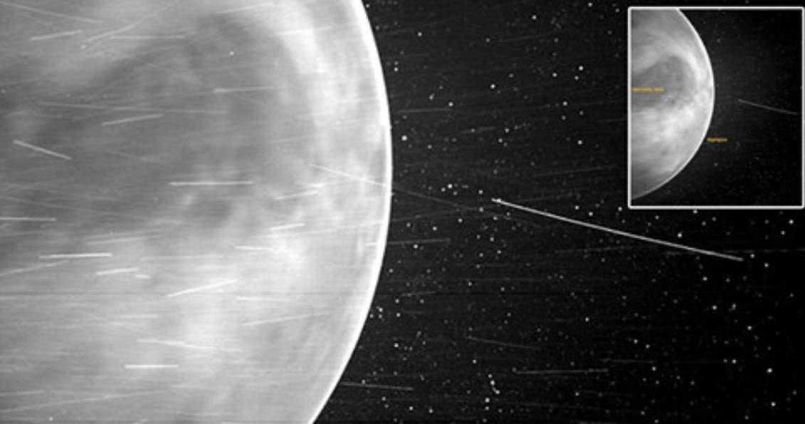 Nasa kap fotografi mahnitëse të Venerës