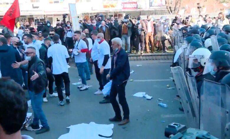 """Protesta për rastin """"Monstra"""", aktakuzë për 7 persona"""