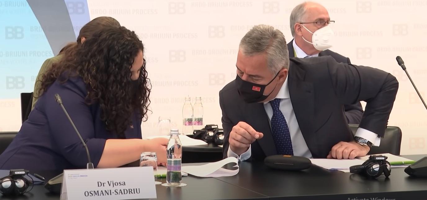 Osmani deklason Vuçiçin në Samitin Bërdo-Brijoni (VIDEO)