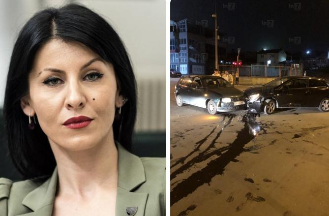 Aksidentohet prokurorja Fatime Fetai, dërgohet në spital