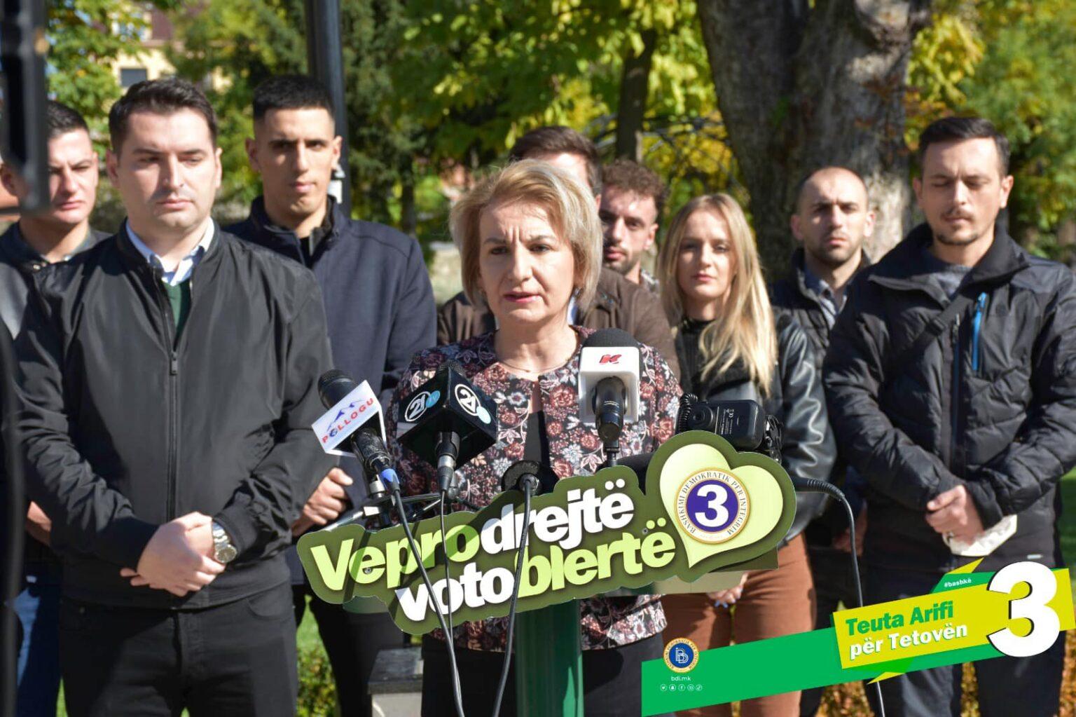 Arifi: Kërkoj nga mbështetësit e LSDM -së dhe VMRO -së të votojnë për një Tetovë të bashkuar/Vizioni ynë për Tetovën është europian
