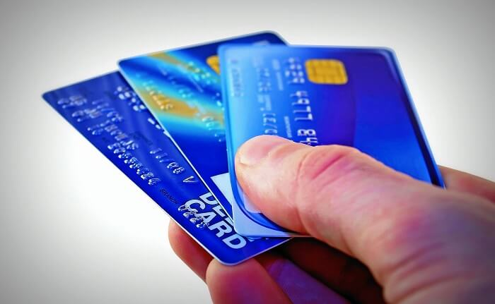 Usage of credit cards