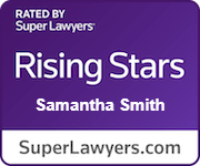 Smantha Smith Super Lawyers Badge