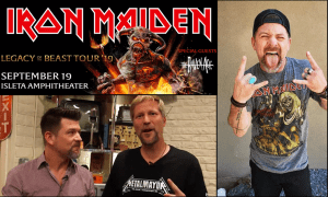 Iron Maiden with Chad Brummett and our Metalhead Mayor Ticket Sweepstakes
