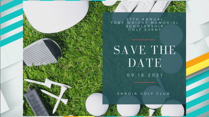 Save the date for the 27th Annual Toby Wright Memorial Scholarship Golf Tournament