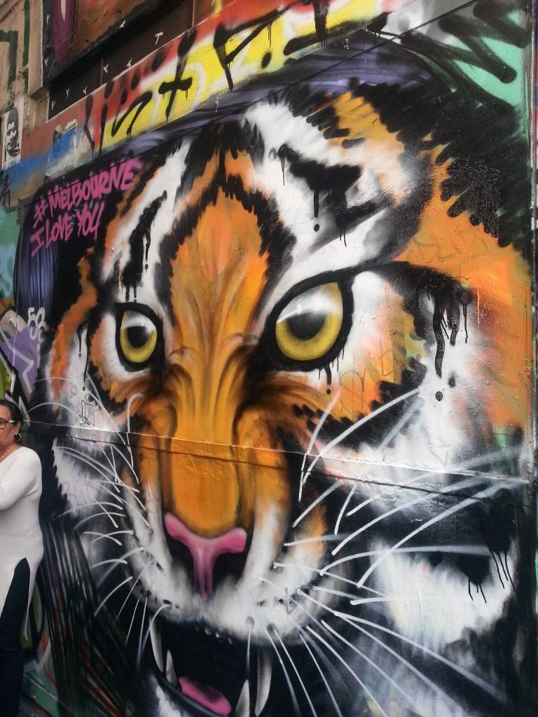 Tiger Art in Melbourne