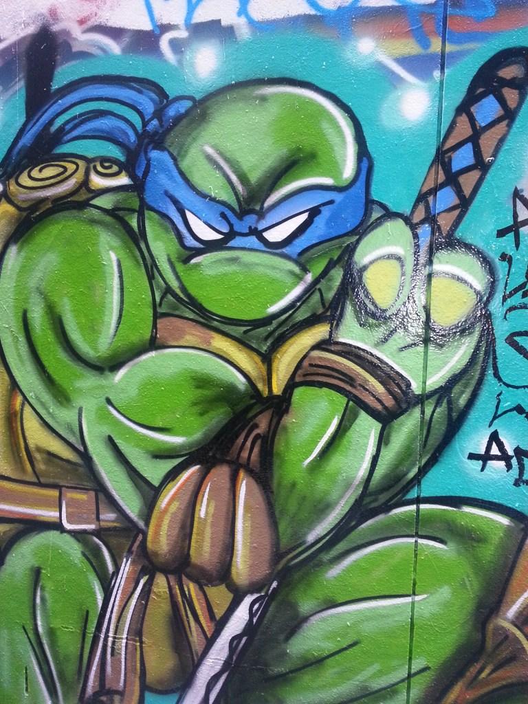 Ninja turtle art in Melbourne