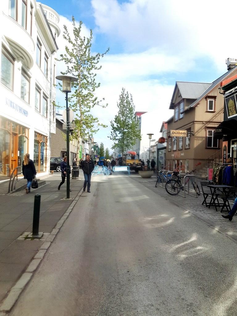 Reykjavik streets
