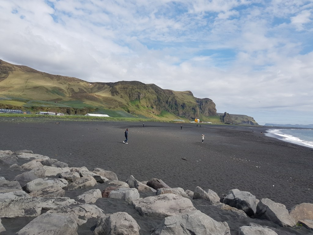 A beach stop during our Reykjavik Excursions tour