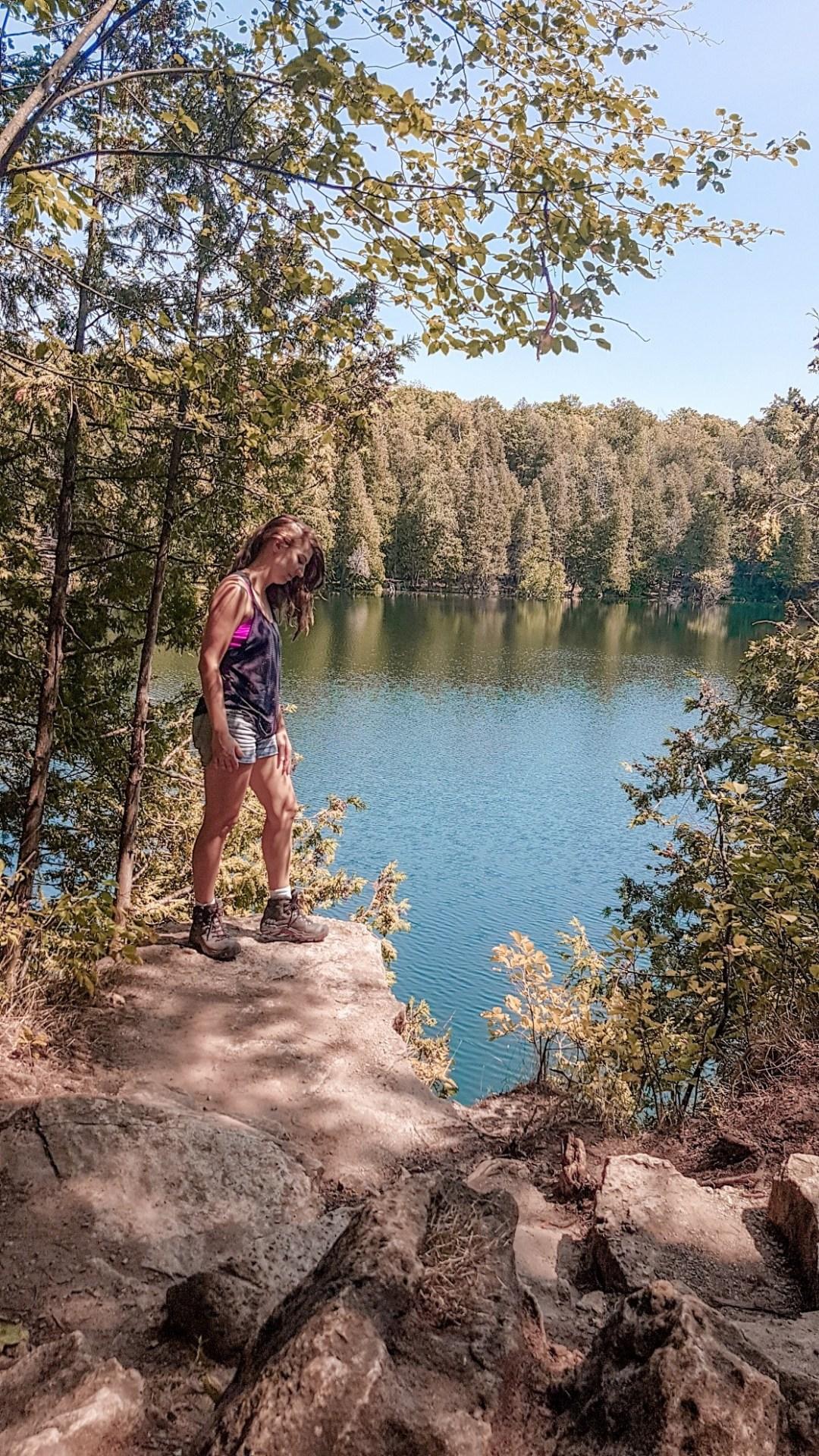 Hiking Crawford Lake