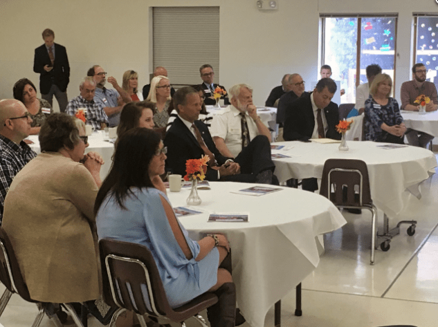 Senator Thune (R-SD) Visits Youth & Family Services