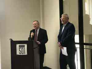 Senator Durbin Visits Center @501