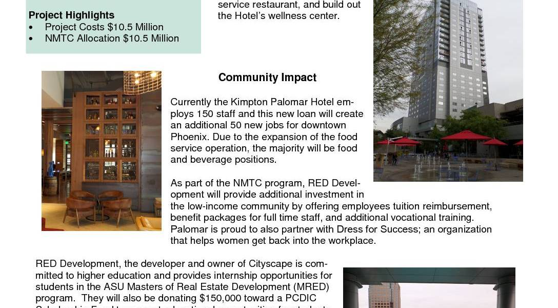 Cityscape Kimpton Palomar Hotel Phase 2