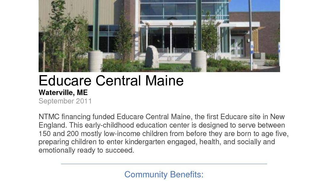 Educare Central Maine
