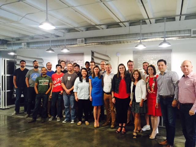 Rep. Lynn Jenkins (R-KS) visits Kansas City Tech Start-up Payit