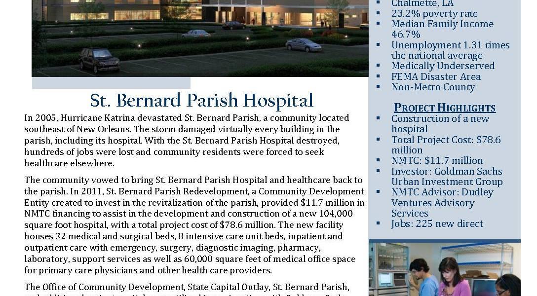 Louisiana St Bernard Parish Hospital