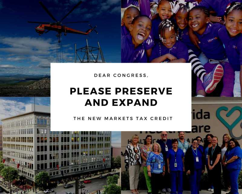 Multitude of Organizations Urge Congress to Save Soon-to-Expire NMTC