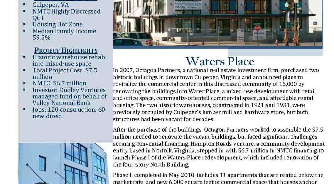 Waters Place