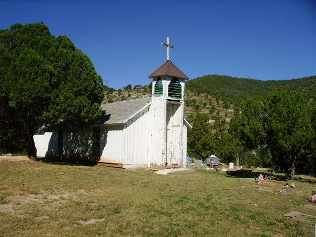 San Ysidro Church Cemetery, Glenco, Lincoln County, New Mexico