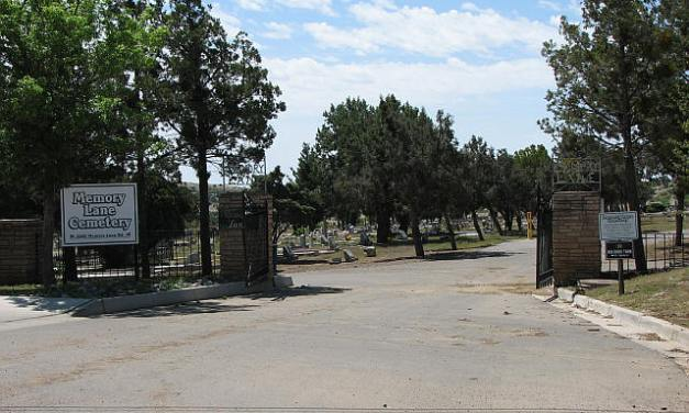 Memory Lane Cemetery, Silver City, Grant County, New Mexico