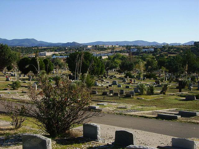 Memory Lane Cemetery, Silver City, Grant County, New Mexico