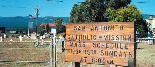 San Antonito Cemetery, Bernalillo County, New Mexico