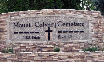 Mount Calvary Cemetery, Albuquerque, Bernalillo County, New Mexico