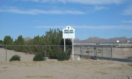 Dona Ana Cemetery, Doña Ana County, New Mexico