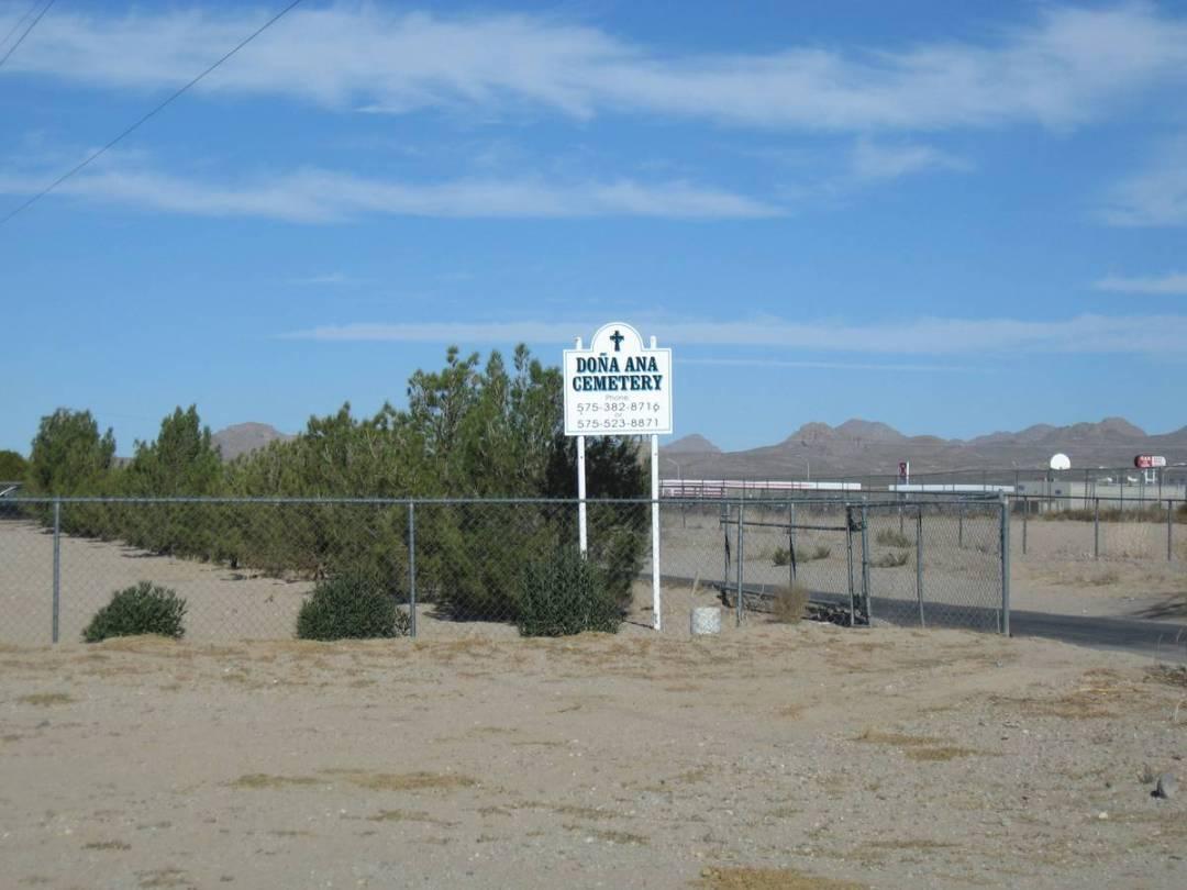 Dona Ana Cemetery, Dona Ana County, New Mexico