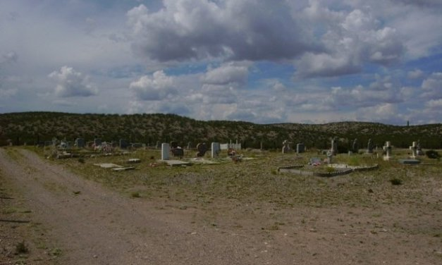 San Antonito Cemetery, Socorro County, New Mexico (S of San Antonio, NM)