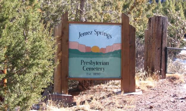 Jemez Springs Presbyterian Cemetery, Jemez Springs, Sandoval County, New Mexico