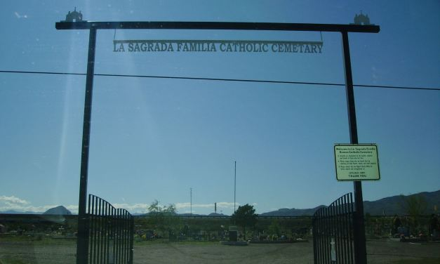 La Sagrada Familia Catholic Cemetery, Lemitar, Socorro County, New Mexico