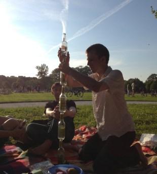 Picnicking in the Englischer Garten