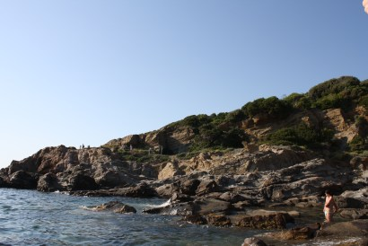 My first rocky beach