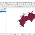 「QGIS」を利用し、特定の属性条件から検索を行い、検索結果の地物を抽出