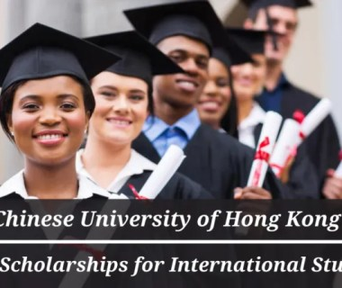 CUHK Entry Scholarships for International Students in China