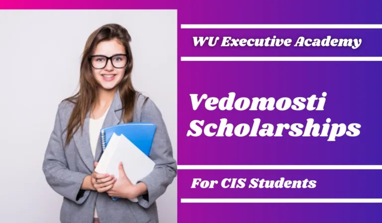 Vedomosti Scholarships for CIS Students in Austria