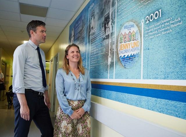 Swedish Ambassador helps Jenny Lind Children's Hospital celebrate 165 years