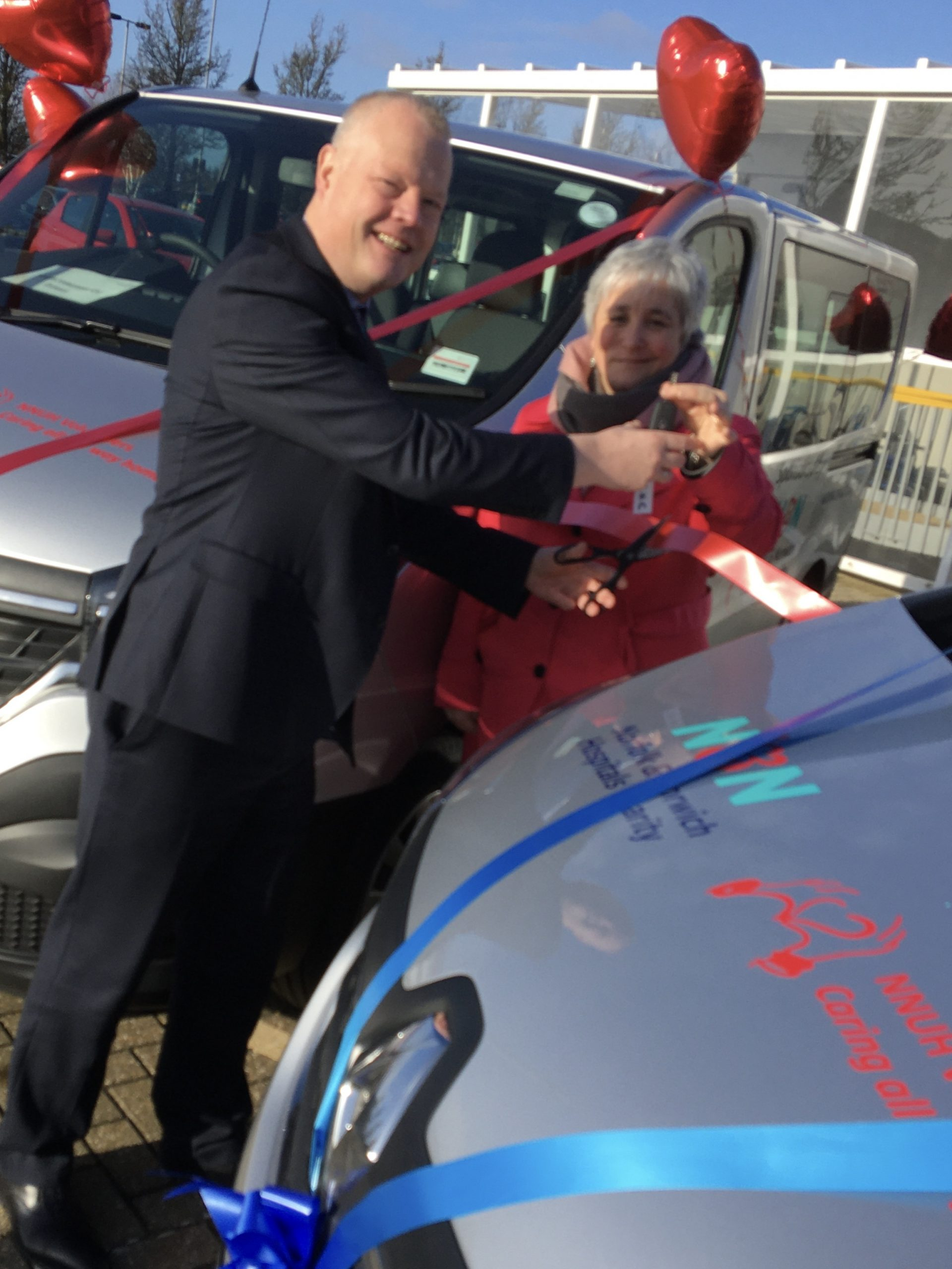 Charity funds unique volunteer driver service for patients