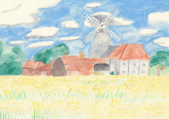 windmill-card