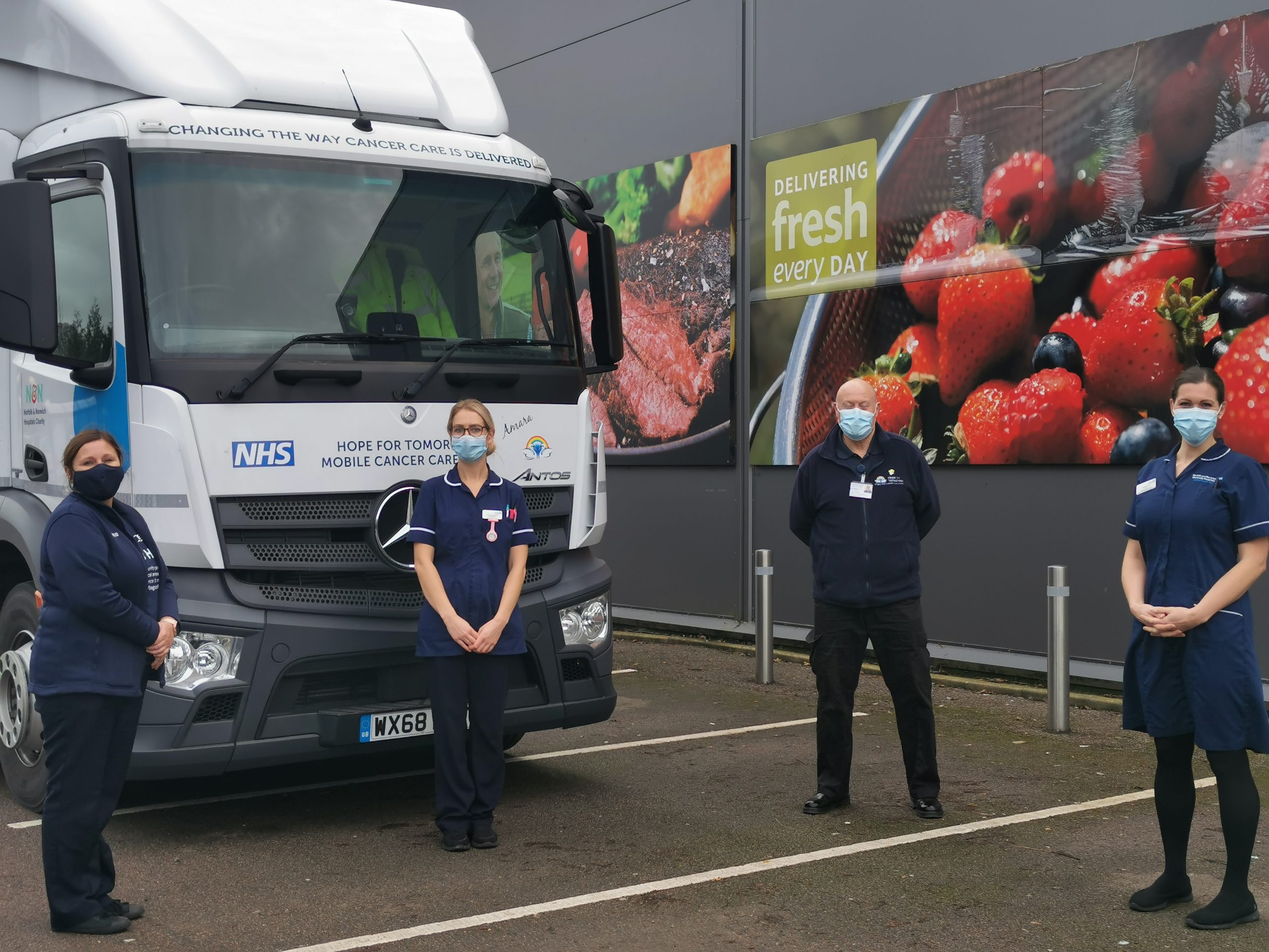 Cancer care hits the road