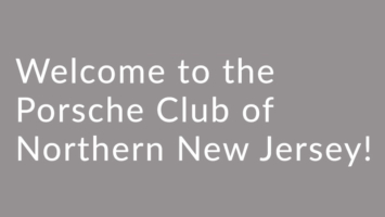 Welcome text banner