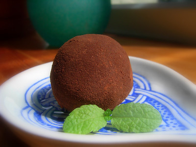 Chocolate Truffle with Coffee Liqueur