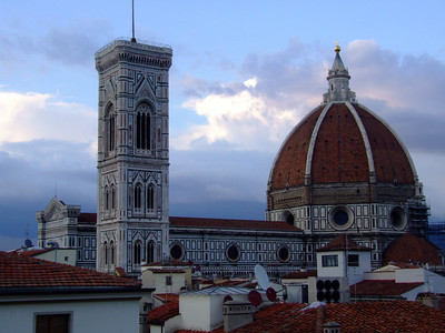 We were in Florence!