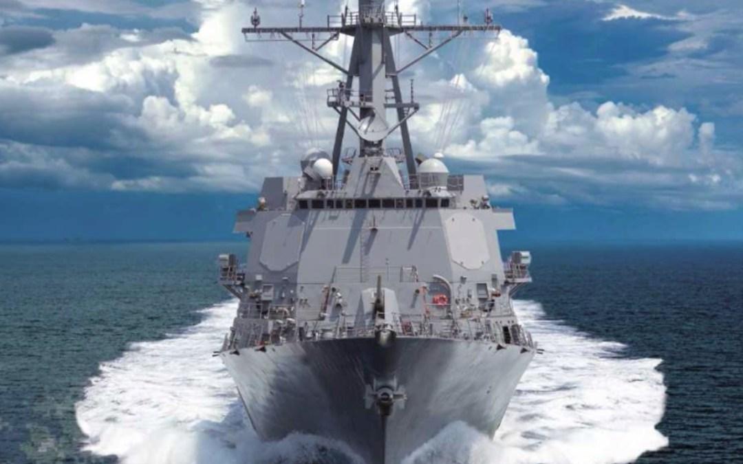 USS Ralph Johnson – Commissioning Ceremony