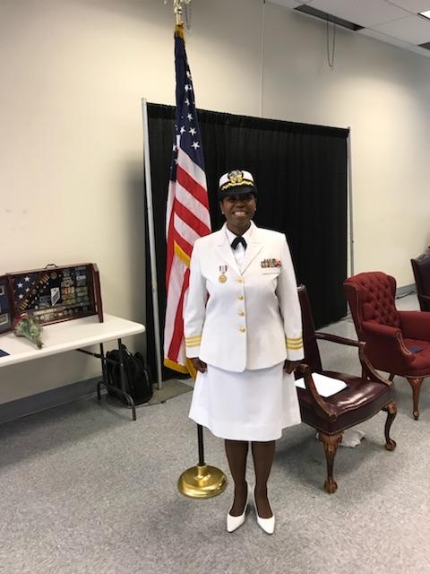 CDR Angela Clements, USN Retirement Ceremony