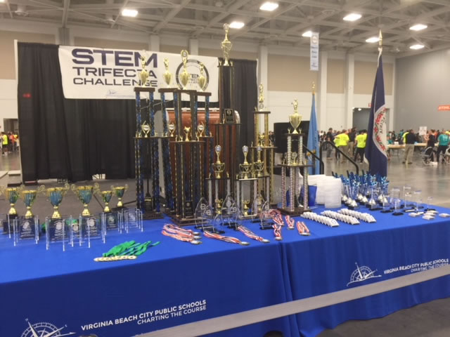 National and Tidewater Chapter NNOA partnered with the  Virginia Beach Schools STEM Trifecta Event