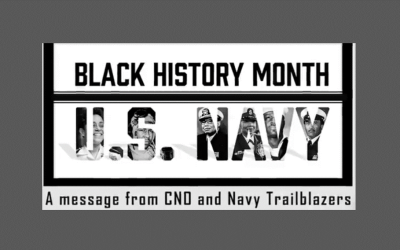 Black History Message – Video from CNO Admiral Richardson